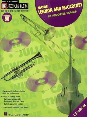 Jazz play along / Jazz Play Along: Volume 58, More Lennon And McCartney / Beatles, The (Artist); Taylor, Mark (Arranger); Roberts, Jim (Arranger) / Hal Leonard