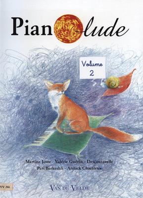 Pianolude vol. 2 / Joste/Guérin/Descouturelle/Barkeshli/Chartreux / Van de Velde