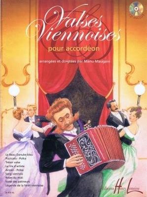 Valses viennoises / Maugain Manu / Henry Lemoine