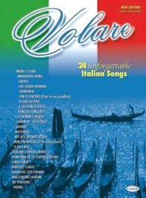 Volare 24 unforgettable italian songs /  / Carisch