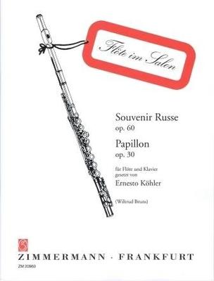 Souvenir russe op. 60 & Papillon op. 30 / Köhler Ernesto / Zimmermann