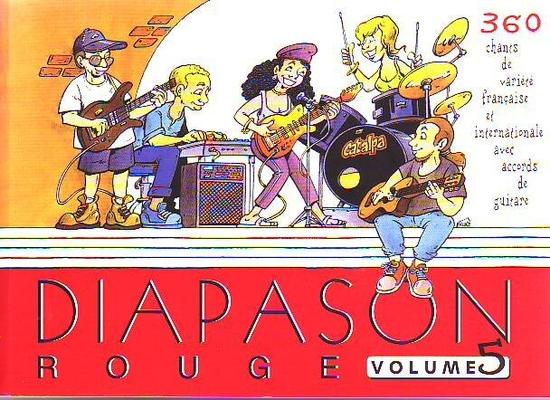 Diapason rouge, vol. 5 360 chansons d'aujourd'hui /  / Presses d'Ile-de-France