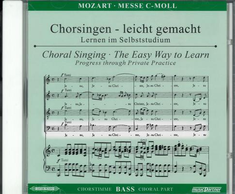 Messe en do mineur KV 427 (417a), Chorsingen, leicht gemacht / Mozart Wolfgang Amadeus / Peters