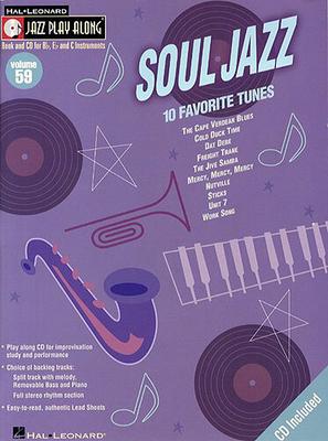 Jazz play along / Jazz Play Along: Volume 59, Soul Jazz /  / Hal Leonard