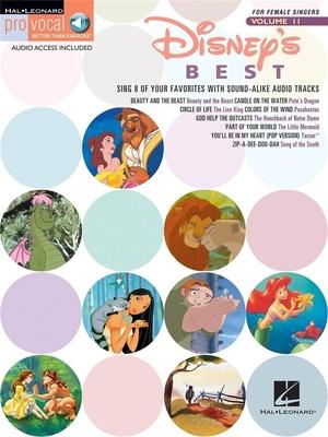 Pro Vocal / Disney's Best (Female Singers) /  / Hal Leonard