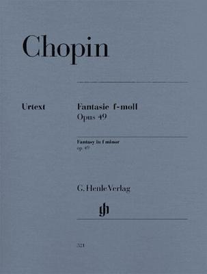 Fantaisie en fa mineur op. 49 / Chopin Frédéric / Henle