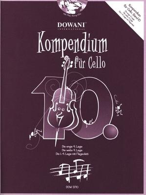 Kompendium für Cello, vol. 10 / Hofer Josef / Dowani