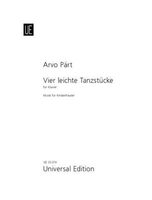 Leichte Tanzstucke (4) / Arvo Pärt / Universal Edition