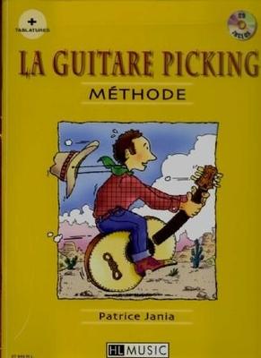 La guitare picking / Jania Patrice / Henry Lemoine