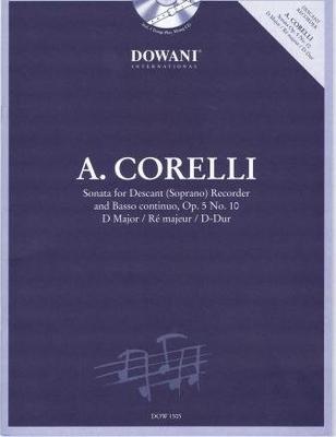 Sonate en ré majeur op. 5 no 10 / Corelli Arcangelo / Dowani