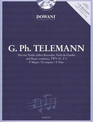 Trio en fa majeur, TWV 42:F3 / Telemann Georg Philip / Dowani