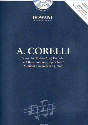 Sonate en sol mineur op. 5 no 7 / Corelli Arcangelo / Dowani