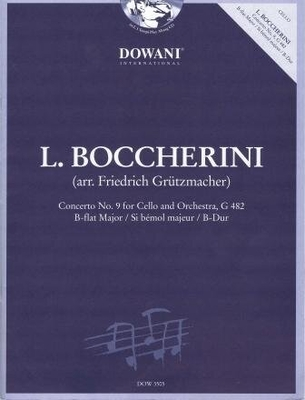 Concerto en sib majeur no 9, G 482 / Boccherini Luigi / Dowani
