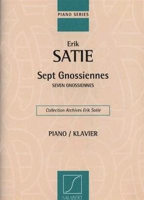 Sept GnossiennesSeven Gnossiennes / Satie Erik / Salabert