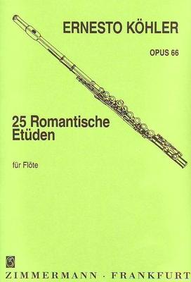 25 études romantiques op. 66 / Köhler Ernesto / Zimmermann