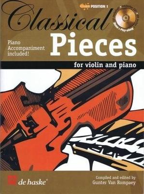 Classical pieces / Gunter van Rompaey / De Haske