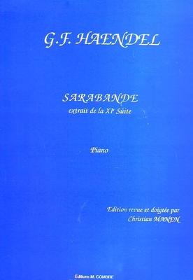Sarabande / Händel Georg Friedrich / Combre