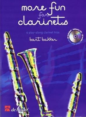 More fun for clarinets / Bakker Bart / De Haske