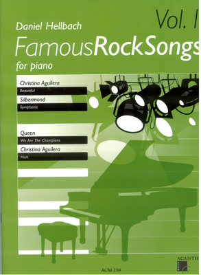 Famous rock songs for piano vol. 1 / Hellbach Daniel / Acanthus