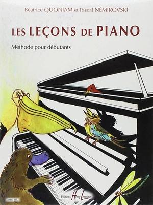 Les leçons de piano / Quoniam B./Némirovsky P. / Henry Lemoine