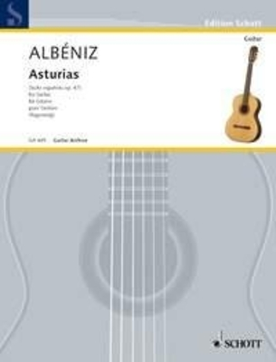 Asturias Leyenda aus Suite espanola / Isaac Albéniz / Schott