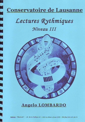 Lectures rythmiques. niveau III / Lombardo Angelo / Musicale