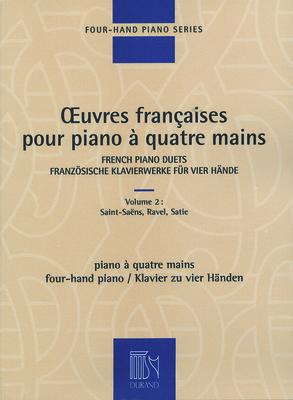 Oeuvres Françaises pour piano à quatre mains vol. 2Piano 4 Hands /  / Durand