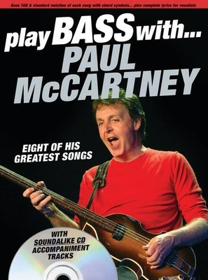 Play Bass With… Paul McCartney / McCartney, Paul / Music Sales