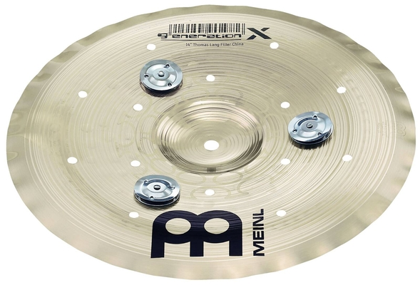 Meinl Filter China with Jingles 12»