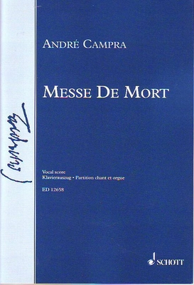 Messe de mort / Campra André / Jean-Paul Montagnier / Schott