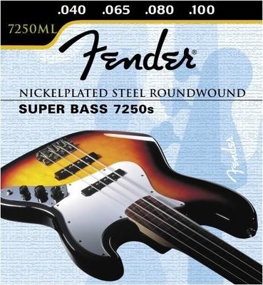 Fender 7250ML Super Bass 7250s Medium-Light 045-100