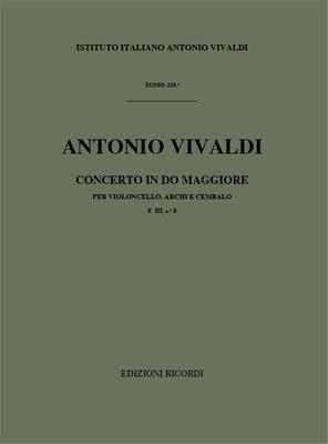 Concerto en do majeur F.IIIn.8, RV 398 / Vivaldi Antonio / Ricordi