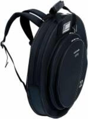 BMB Housse Premium Cymbales 22» avec poche hi-hat 15» black