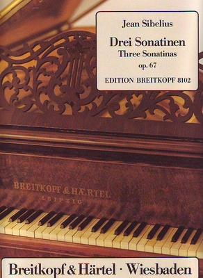 3 sonatines op. 67 / Sibélius Jean / Breitkopf