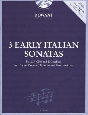 3 Tempi play along / 3 anciennes sonates italiennes /  / Dowani
