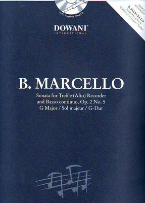 3 Tempi play along / Sonate en sol majeur op. 2 no 5 / Marcello Benedetto / Dowani