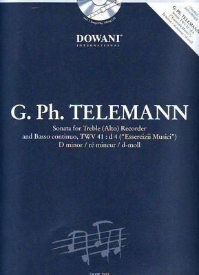 3 Tempi play along / Sonate en ré mineur, TWV 41:d4 / Telemann Georg Philip / Dowani