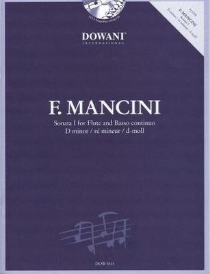 3 Tempi play along / Sonate I en ré mineur / Mancini Francesco / Dowani