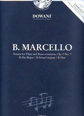 3 Tempi play along / Sonate en sib majeur op. 2 no 7 / Marcello Benedetto / Dowani