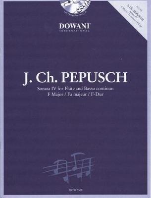 3 Tempi play along / Sonate IV en fa majeur / Pepusch Johann Christoph / Dowani