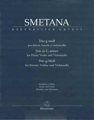 Trio en sol mineur / Smetana Bedrich / Bärenreiter