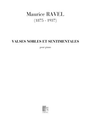 Valses Nobles Et Sentimentals / Maurice Ravel / Durand