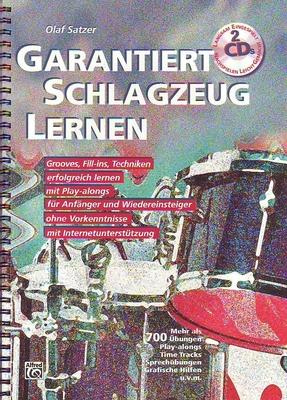 Garantiert Schlagzeug lernen / Satzer Olaf / Alfred Publishing