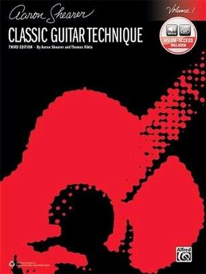 Classic guitar technique vol. 1 / Shearer Aaron / Alfred Publishing
