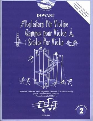 Gammes pour violon, vol. 2 / Leyvraz P./ Sarnau F. / Dowani