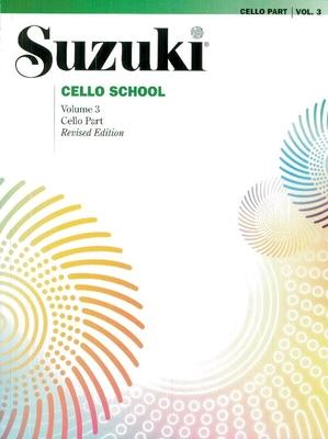 Suzuki Cello School vol. 3 / Suzuki Shinichi / Alfred Publishing