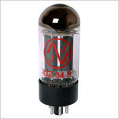 JJ Electronic GZ34 (5AR4) Tube
