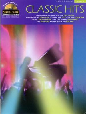 Piano Play-along / Piano Play-Along Volume 14: Classic Hits (Book And CD) /  / Hal Leonard