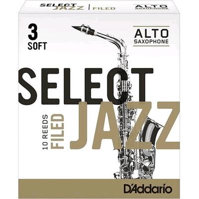 Rico Select Jazz Sax alto mib 3S Filed 10 Pièces