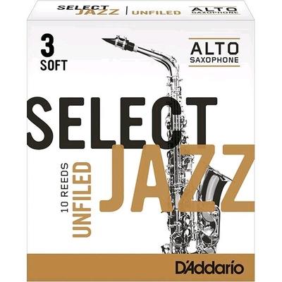 Rico Select Jazz Sax alto mib 3S Unifiled 10 Pièces